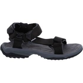 Teva Terra FI Lite Leather Sandaler Herrer, black